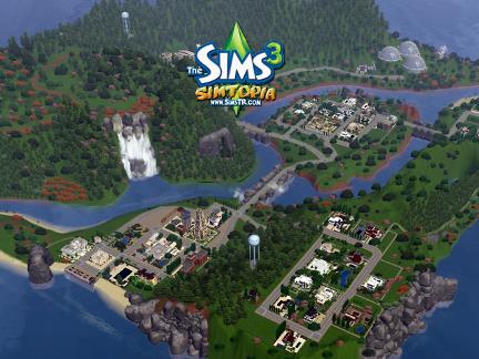 Как создать свой город в игре симс 3