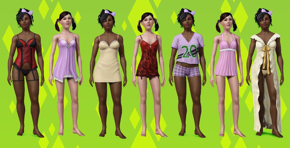 The Sims 3 изысканная спальня скриншоты.